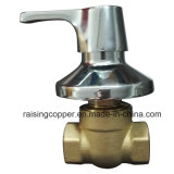 Brass Globe Valve with Chrome Plate