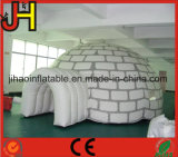 Customized White Inflatable Dome Air Tent with Tunnel