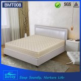 OEM Compressed Round Bed Mattress 24cm High with Resilient Foam Layer and Bonnell Spring