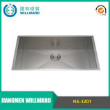 Handmade Ns-3201 Ss304 Single Bowl Kitchen Sink