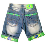 Boy's Cotton Shorts Men Jeans Pants (CFJ001)