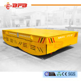 Electric Driven Motorized Trackless Transfer Car with Safety Device for Factory Transport
