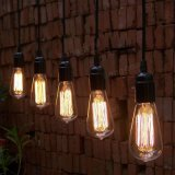 4W E27 St58 Edison Bulb Antique Filament Lamp Retro Vintage Light 220V/110V