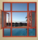 Fuxuan Wooden Grain Thermal Break Aluminium Window Frame
