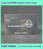 Discount Card Made From Plastic with Magnetic Stripe