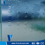 Clear Silver Square/Millenium Patterned/Figured Glass for Windows