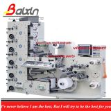 6+2 Color Flexo Label Printing Machine High Quality