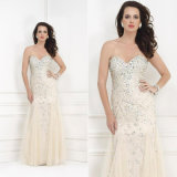 Crystal Cocktail Party Prom Gown Vestidos Long Evening Dress Yao11011