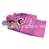 Knitted Hat and Scarf Set for Kids (JRK101, JRK102, JRK103)