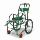 Available in Green and Black Garden Hose Reel Cart (TC4702)