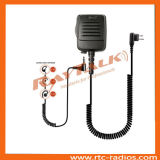 Professional Police Speaker Microphone with Spiral Cable