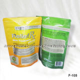 Plastic Stand up Food Packaging Bag ISO9001: 2008 Certificated