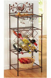 Customize Metal Wine Glass Rack and Wine Bottle Holder