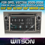 Witson Car DVD for Opel Vectra 2005-2008 Car DVD GPS 1080P DSP Capactive Screen WiFi 3G Front DVR Camera