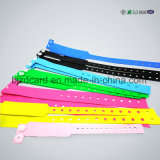 Access Control PVC Bracelet RFID Wristband for Hospital