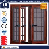 Aluminum Casement Window with Security Grill