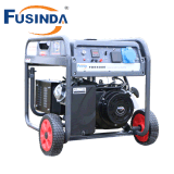 5kVA Key / Electric Start Gasoline Petrol Generator Set with Air Cooled Four Stroke Overhead Valve (OHV) Gasoline Engine