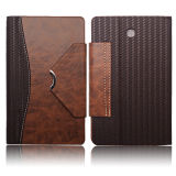 Folio Flip Leather Case with Wallet for Samsung P3000 iPad Air