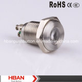 CE RoHS 12mm Stainless Steel Pilot Lamp