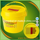 6L Medical Waste Container with Handle Y6b
