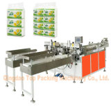 12 Bags Carry Bag Facial Tissue Paper Packing Machine