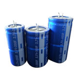 Snap-in Terminal Super Capacitor 200f 300f 400f 2.7V