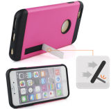 New Coming TPU+PC Combo Case with Holder for iPhone6