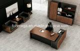 Walnut Mcf Perfect Design Executive Desk for Sale (FOH-HMB241)