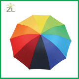 Promotional Colorful Fashion Rainbow Umbrella Cheap Price
