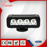 40 Watt 8 Inch Single-Row CREE LED Light Bar