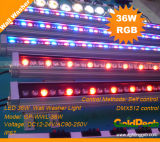 DMX512 Control LED 36W RGB Wall Washer/ LED Projector Light/