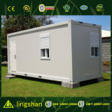 White Flat Pack House Used for Linving or Office