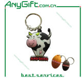 3D PVC Keyring with Customized Size and Logo (LAG-PK-03)