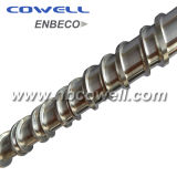 Extruder Screw Barrel with Barrier Mixer