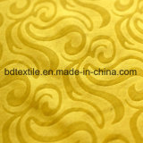 100% Polyester Brushed Embossed Microfiber Bed Sheet Fabric