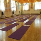Indoor Wooden Pattern PVC Roll Sports Gym Flooring