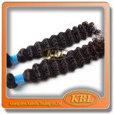 100%Human Hair Brazilian Curly Weave
