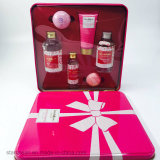 Skin Care Plastic Cosmetic Packaging for Gift Tin Box