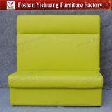 Green Hotel Leather Sofa Furniture Yc-T183-01