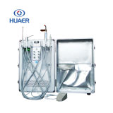 Manufacture Portable Dental Unit with 550W Oil Free Air Compressor