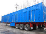 Ctac Brand Tri-Axles Van Type Semi Trailer