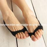 Women′s Invisible Two-Toe Cotton Socks (FA002)