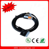 USB Car Charge + 3.5mm Aux Audio Dock Cable for iPhone4 4s