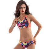 2017 Hot Sales Summer Women's Sexy Colorful Printing Bikini