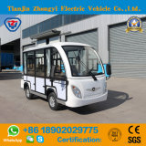 8 Seats Closed Factory Direct White Electric Sightseeing Car