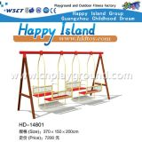 Large Swing Set for Kids with Swaying Chairs (HD-14801)