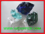 Blue Garden Ornaments Crushed Colored Glass Gravel