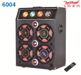 10 Inch VHF Outdoor Trolly Speaker with Wireless Microphone 6004