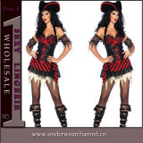 Sexy Women Halloween Fancy Dress Pirate Costume (TLQZ6833)