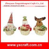 Christmas Decoration (ZY13G137-1-2-3 20CM) Christmas Hotel Supplies